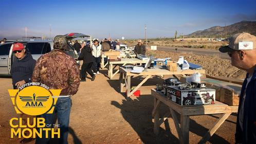 The Club Holds Monthly Swap Meets Over The Winter.
