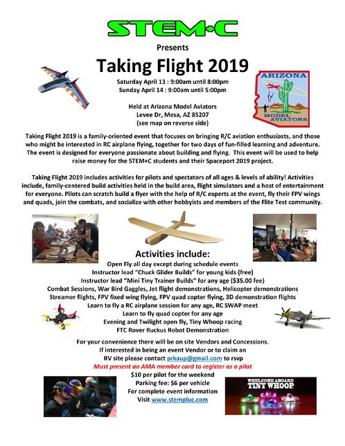 Taking Flight 2019