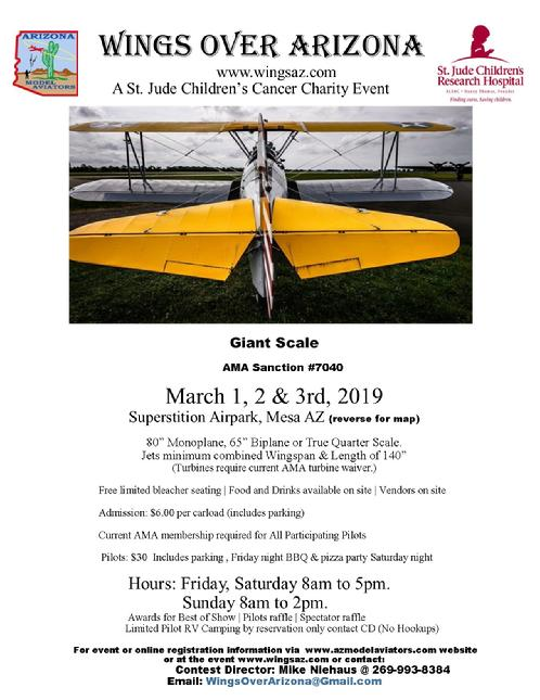 Wings Over Arizona Charity Event